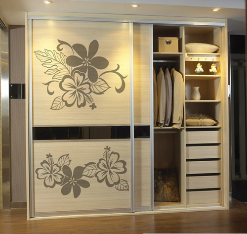 grey removable vinyl wall sticker home decor flower Australia