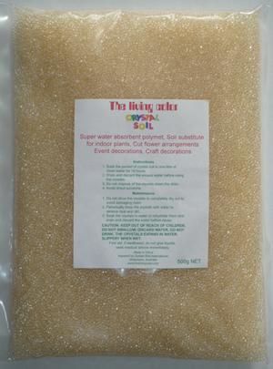 Clear Crystal Soil 480g
