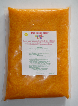 gold crystal soil 480g