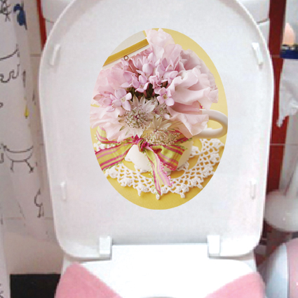 Loo sticker / Toilet sticker - removable & waterproof
